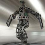 3D CAD design of HAJIME ROBOT 39