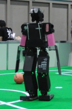 CIT Brains at RoboCup (Chiba Institute of Technology)(outer design is by CIT Brains)