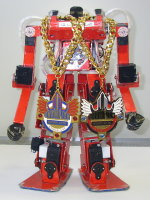 HAJIME ROBOT 4 achieved two consecutive wins at ROBO-ONE Bandai cup (2003)