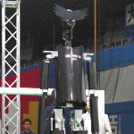 Large size humanoid robot