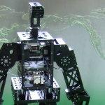Middle size humanoid robot