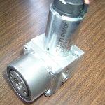 かさ歯車式のアクチュエータユニット(25号機)