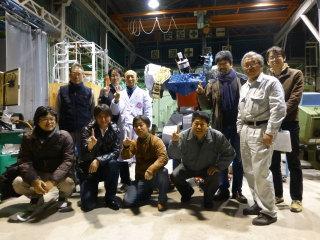 ロボットプロジェクトのメンバー