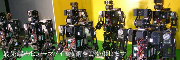 ヒューマノイドロボットの開発と販売