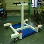 Moving Cart for the Robot (Araki, Ltd.)