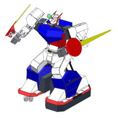 HAJIME ROBOT 47 3D CAD image