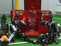 Louis Vuitton Cup and HAJIME ROBOT (Darmstadt Dribblers) (2009)