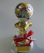 Championship trophy of RoboCup PK (2004)