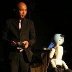 ロボットの実演