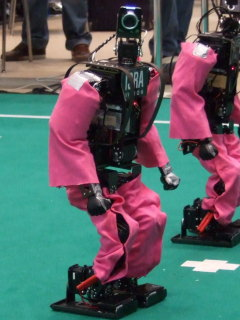HAJIME ROBOT 30 <使用例>ロボカップのDarmstadt Dribblersチーム(ドイツのダルムシュタット工科大学)