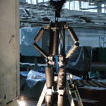 はじめロボット33号機を現代アート展に展示