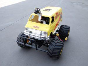 ラジコンカーの前面の写真