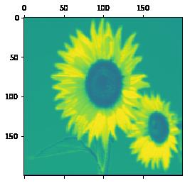 最初の畳み込み層の出力(4ch)の画像