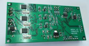 ブラシレスDCモータ制御基板(裏)