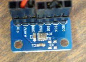 温度・湿度・気圧センサーの写真