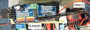 PCA9685とTB6612