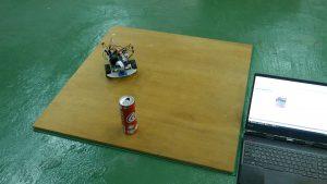 JetBot衝突回避の動作中